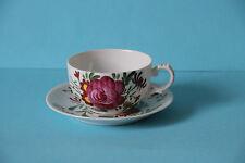 Teetasse mit Untertasse Tasse Untere Ostfriesenrose Ostfriesische Rose