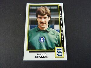 David Seaman - Panini Football 86 Sticker - Near Mint - Birmingham - No 41