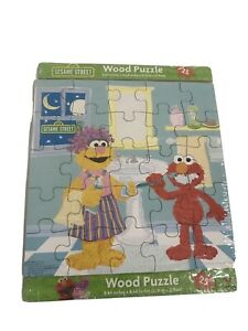 123 Sesame Street Wood Puzzle 8.64 In X 8.64 In • New • Factory Sealed