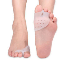 Silicone Pad For Hammer Toe Pain Relief Bunion Corrector Toe Separator Orthotics