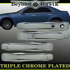 2011 12 13 14 2015 2016 2017 CHRYSLER 300 300C TRIPLE Chrome Door Handle COVERS