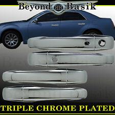 2011-2017 Dodge Journey Chrysler 300 300C Chrome Door Handle COVERS W/Smart Key