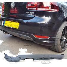 REAR DIFFUSER FOR VW GOLF 6 08-12 GTI LOOK GOLF VI SPOILER BODY KIT NEW