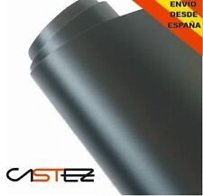 VINILO NEGRO MATE - 30 X 76 CM - MATTE BLACK VINYL air free libre burbujas