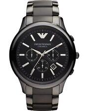 Emporio Armani AR1451 ceramica orologio uomo 47 mm ⌚ AUTENTICO 📦 VELOCE ✔️✔️✔️