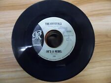 "The Chrystals He's A Rebel Philles P-TCY 7 7""/45rpm 021518DB45"
