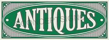 2'X5' ANTIQUES BANNER Outdoor Indoor Sign Market Shop Collectibles Furniture