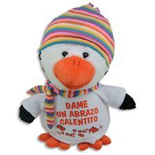 Peluche Pingüino Personalizado con las fotos y/o textos que quieras
