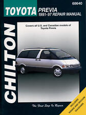 Toyota Previa 1991-97 Chilton Repair Manual 68640