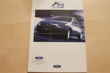 76456) Ford Ka Blueline Prospekt 04/1998