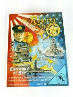 The Rising Sun Command At Sea World War II Board Game Clash Of Arms 1994