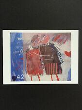 DAVID HOCKNEY, 'We Two Boys Together Clinging' exhibition art card, 2017.