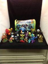 Lot 15 Skylanders by Activision Game Pieces 2 Portals 5 Crystals Mad Bag Es Ws36