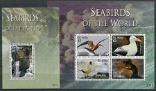 St. Kitts 2007 Seevögel Vögel Seabirds Uccelli Oiseaux 964-967 Block 83 MNH