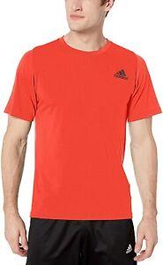 adidas Men's Freelift Sport Tee, Active Red
