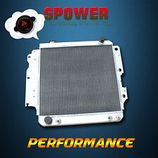 3 Row Aluminum Radiator For Jeep Wrangler YJ TJ LJ 1987-2006 AT MT LHD