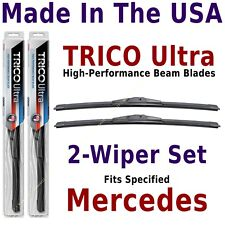 Buy American: TRICO Ultra 2-Wiper Blade Set fits listed Mercedes-Benz: 13-18-18