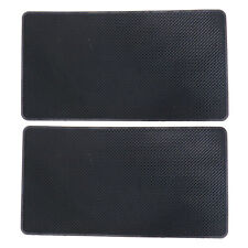 "2x Silica Gel Antiskid Mat Non-Slip Car Dashboard Pad 10.6""x5.9""x0.07"" Washable"