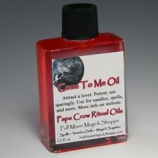 Come To Me Oil Anoint Candles Use In Spells Wicca Voodoo Full Moon Love Magick