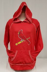 Brand New Women's GM MLB St. Louis Cardinals Pull Over Sweater