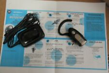 Motorola H500 bluetooth earpiece with charger