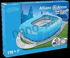TSV 1860 MUNCHEN ALLIANZ ARENA ESTADIO 3d Puzle Rompecabezas Azul (1860 color )