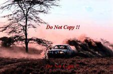 Joginder Singh Mercedes-Benz 450 SLC Safari Rally 1980 Photograph 1