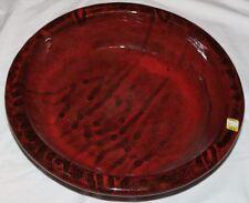 Red / Black Bird Bath Bowl