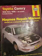 Haynes 92006 Toyota Camry 1992 thru 1996 All Models Includes Avalon