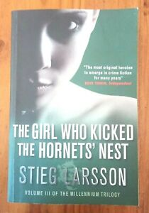 The Girl Who Kicked the Hornets' Nest ( Millennium series,#3)  By Stieg Larsson
