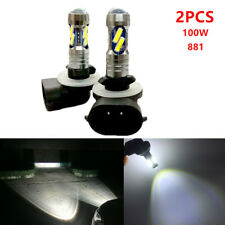 2pcs 100W LED Fog Driving Light Bulb 881 862 886 889 894 896 898 360° Beam White