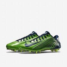 Nike VAPOR CARBON ELITE PF Football Cleats SEAHAWKS 657441 329 MEN 11 with Bag