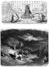 Gustave Dore gigantón Pantagruel 118 A4 Foto impresión