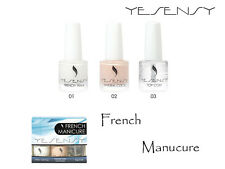 KIT MANICURA FRANCESA DE YESENSY CON GUIAS - Nails art.