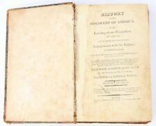 """History of the Discovery of America: Indian Wars"" Henry Trumbull 1819"