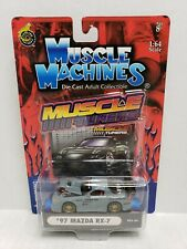 Muscle Machines Muscle Tuners '97 Mazda RX-7 Gray 1/64 2003