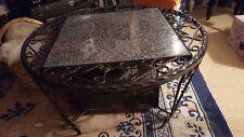 AFFAIRE A SAISIR--TABLE BASSE DE SALON EN FER FORGE