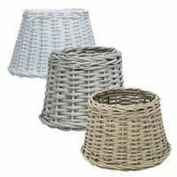 Handmade Lamp Shade Wicker Rattan Candle Home Pendant Ceiling Protector Basket