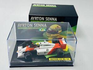 1:43 1987 Ayrton Senna -- Test Car -- McLaren Honda MP4/3 -- Minichamps