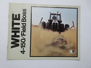 White 4-150 Tractor Brochure 1977 12 Pages