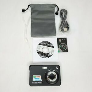 "NEW 18MP High Def Digital Camera 8X Zoom SD up to 32GB 2.7"" LCD Anti-Shake"