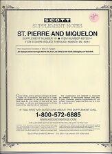 Scott Specialty St. Pierre and Miquelon Supplement 2014 607S014