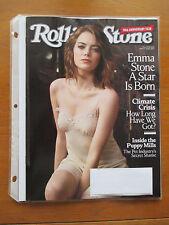 ROLLING STONE Magazine  January 12-26 2017  EMMA STONE  Untouched!  BRAND NEW!