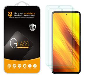 2X Tempered Glass Screen Protector for Xiaomi Poco X3/ X3 Pro/ Redmi Poco X3 NFC
