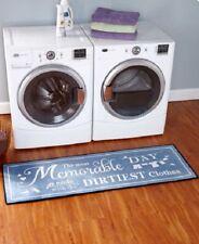 Laundry Room Rug Area Runner Large Floor Mat Long Nonskid Non Slip Throw Decor