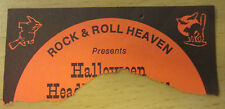 1982 RIOT ANVIL RAVEN MEGAFORCE RECORDS N.J. HALLOWEEN METAL CONCERT TICKET STUB