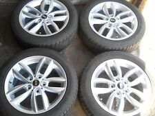 4x 205/55 R17 Sommerräder PIRELLI Original MINI R60 R61 Double Spoke 124 9803723