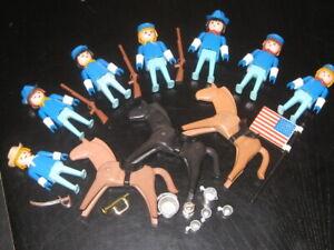 Playmobil  Klicky ACW US Kavallerie Soldaten