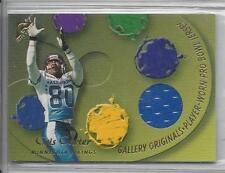 CRIS CARTER 2001 TOPPS GALLERY PRO BOWL GAME USED JERSEY