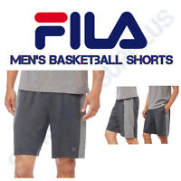 FILA Men's Active Performance Athletic, Basketball, Gym Shorts - VARIETY